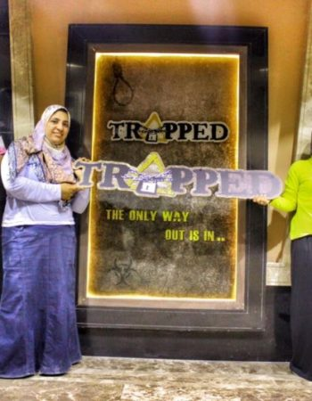 ترابت إسكندرية Trapped اماكن ترفيهية 6