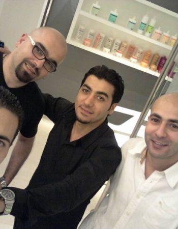 كوافير محمد الصغير داون تاون اسكندرية فريق العمل