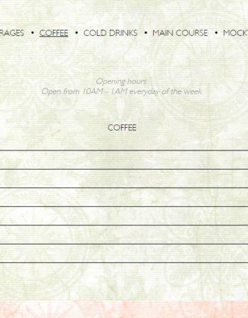 مطعم وكوفى شوب شكسبير اند كو فرع سيتى ستارز city stars cairo menu 2