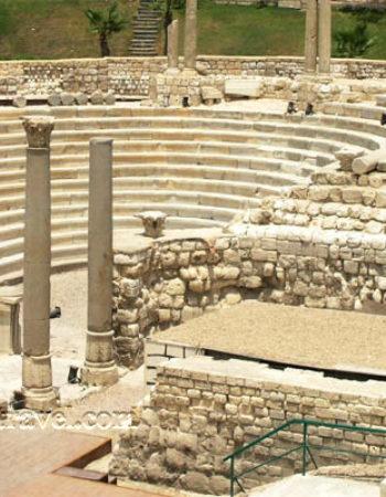 آثار العصر الروماني، ورابع أكبر المسارح الرومانية في العالم