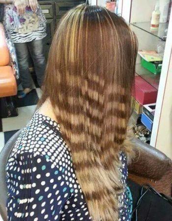 تدريج ألوان الشعر