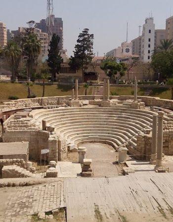 المسرح الرومانى بالاسكندرية 6