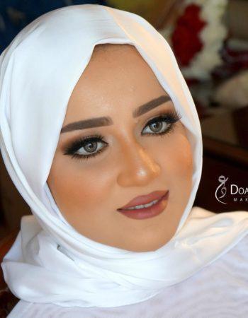 دعاء العميرى ميك اب ارتيست doaa El Omery makeup artist 10
