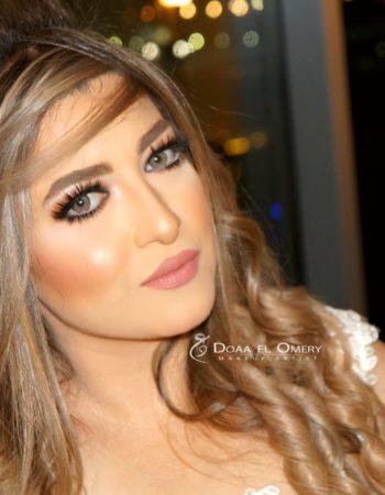 دعاء العميرى ميك اب ارتيست doaa El Omery makeup artist 3