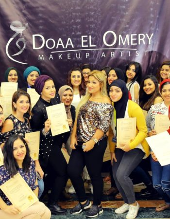 دعاء العميرى ميك اب ارتيست doaa El Omery makeup artist 4