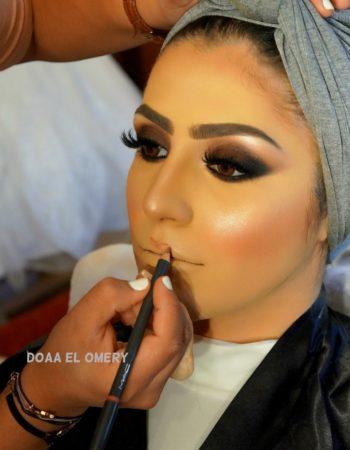 دعاء العميرى ميك اب ارتيست doaa El Omery makeup artist 5