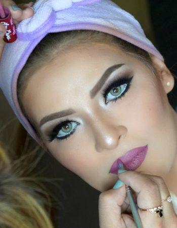 دعاء العميرى ميك اب ارتيست doaa El Omery makeup artist 9