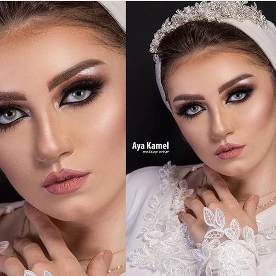 دعاء العميرى ميك اب ارتيست doaa El Omery makeup artist 2