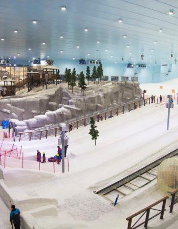 ice ski egypt تزحلق على الثلج فى مصر