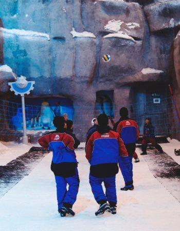 ice ski egypt تزحلق على الثلج فى مصر 5
