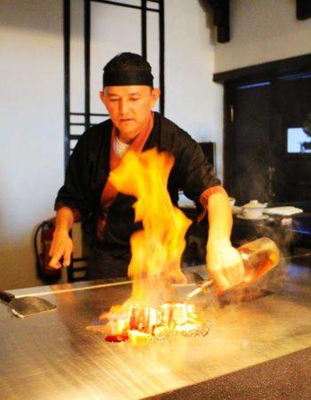 تيبانياكى مطعم يابانى فى سوهو سكوير شرم الشيخ teppanyaki japanese restaurant in soho square sharm el sheikh 2