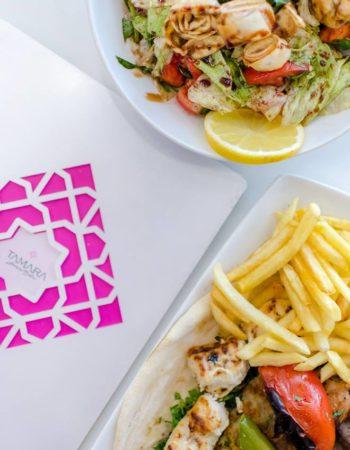 مطعم تمارا اللبنانى Tamara Lebanese bistro restaurant Alexandria 3