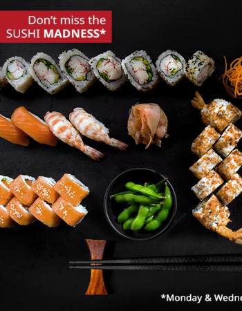 مطعم وان اوك فى الشيح زايد one oak restaurant sheikh zayed create your sushi combo