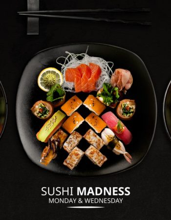 مطعم وان اوك فى الشيح زايد one oak restaurant sheikh zayed sushi combo