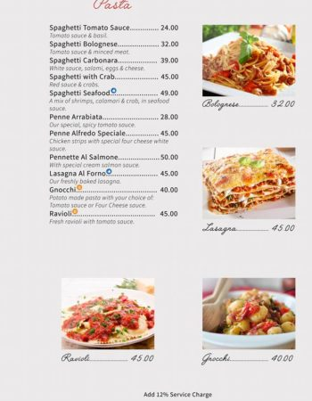 الهمبرا كافيه شرم Al Hambra Cafe Sharm menu2