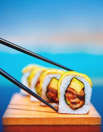 مطعم وان اوك فى الشيح زايد one oak restaurant sheikh zayed dragon sushi