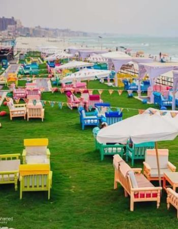 بلو كافيه كافيتيريا فى العجمى البيطاش الاسكندرية - Blue cafe coffee shop and cafeteria in el Agamy el bitash alexandria on the beach