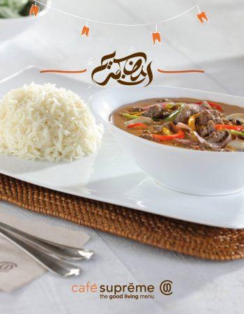 Café Supreme in Cairo appetizing Beef Stroganoff – كافيه سوبريم فى القاهرة مصر الجديدة